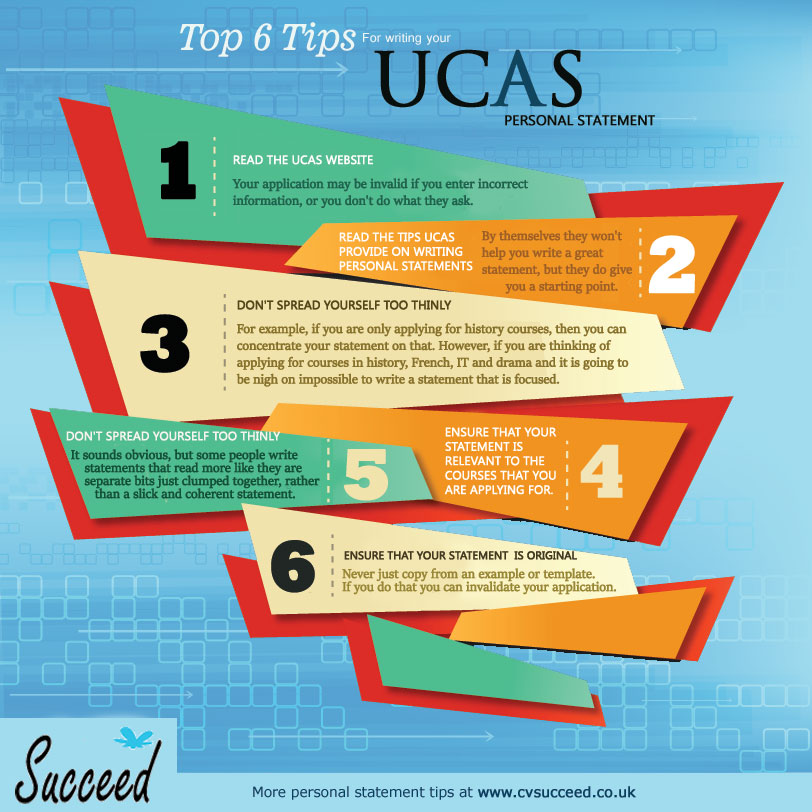 UCAS personal statement writing tips