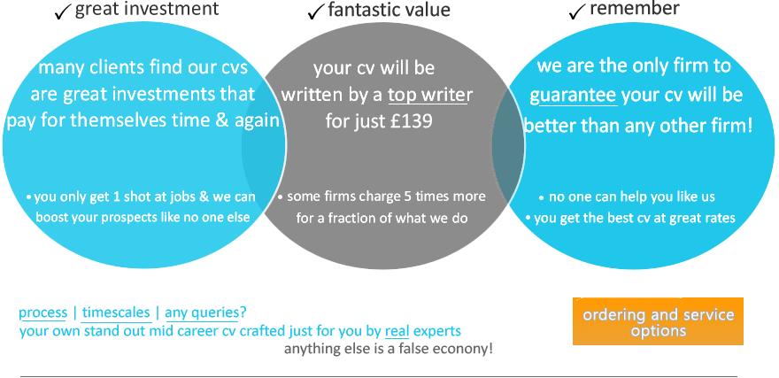 Order CV writing services